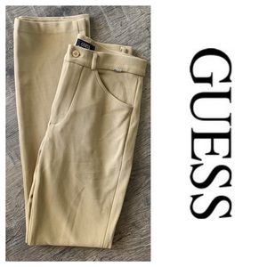Guess Vintage High Rise Textured Nylon Pants (27)